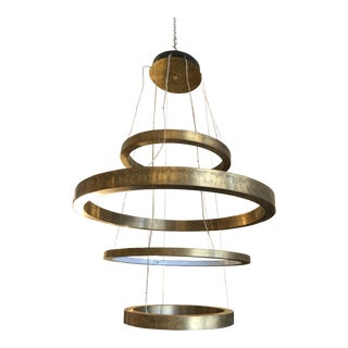 Traditional Henge07 Furniture Four Rings Composition Pendant Lamp