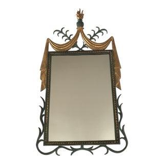 Poillerat Style Iron Mirror