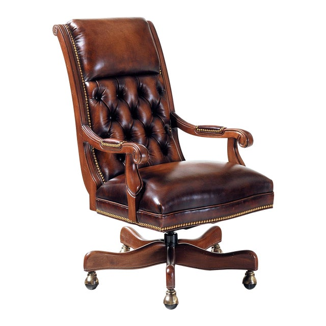 Hancock & Moore Editor's Chair - Image 1 of 8