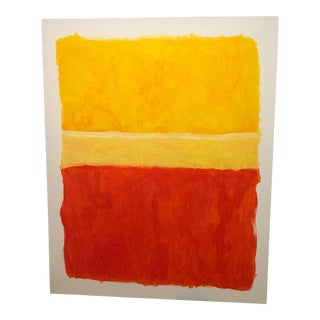 Rothko Inspired Abstract Painting For Sale
