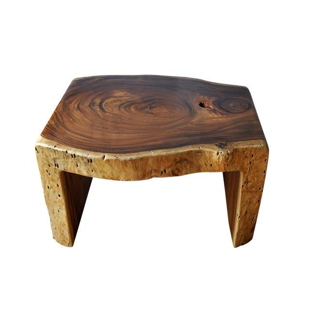 Boho Chic Acacia Coffee Table For Sale