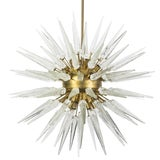 Image of Sputnik Spike Chandelier with Murano Glass For Sale