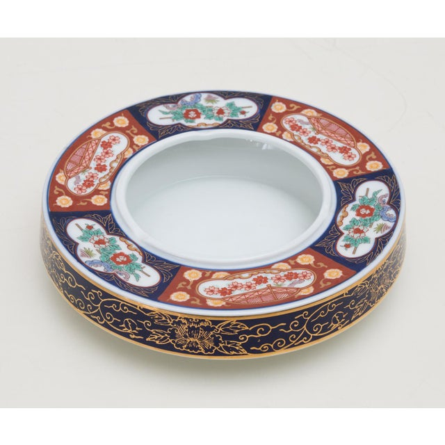 Vintage Gold Imari Catchall Dish or Cache Pot - Image 2 of 8