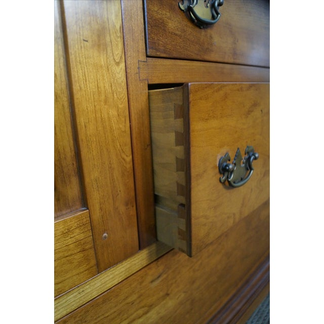 Stickley Vintage Cherry Open Hutch Cupboard - Image 6 of 10