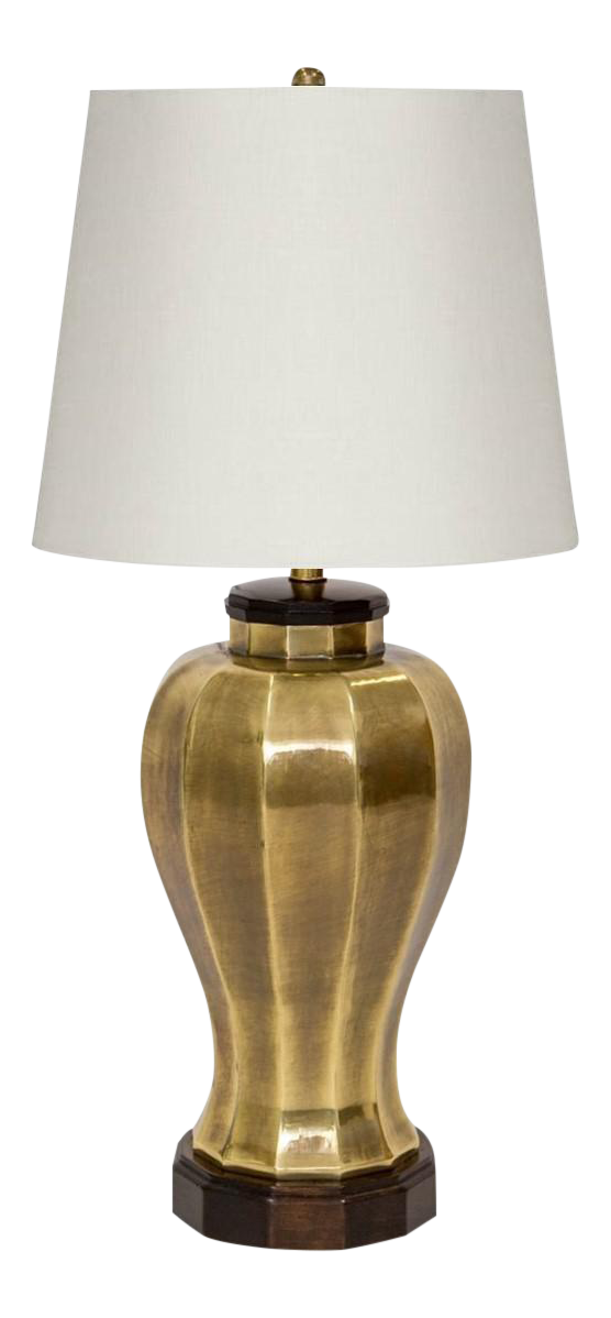 Brass Ginger Jar Lamp By Frederick Cooper