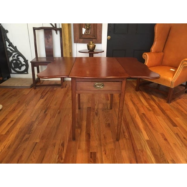 Brown North Carolina Breakfast Table For Sale - Image 8 of 9