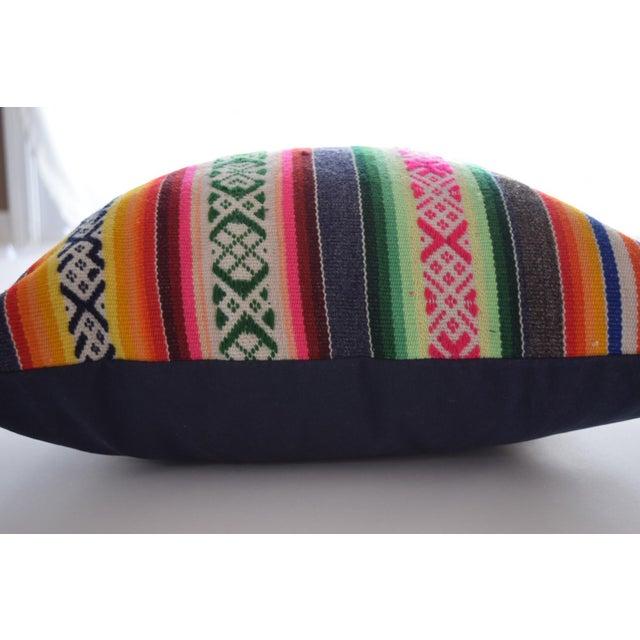Vintage Manta Striped Pillow - Image 3 of 5