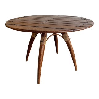 Safari Pacific Green Dining Table For Sale