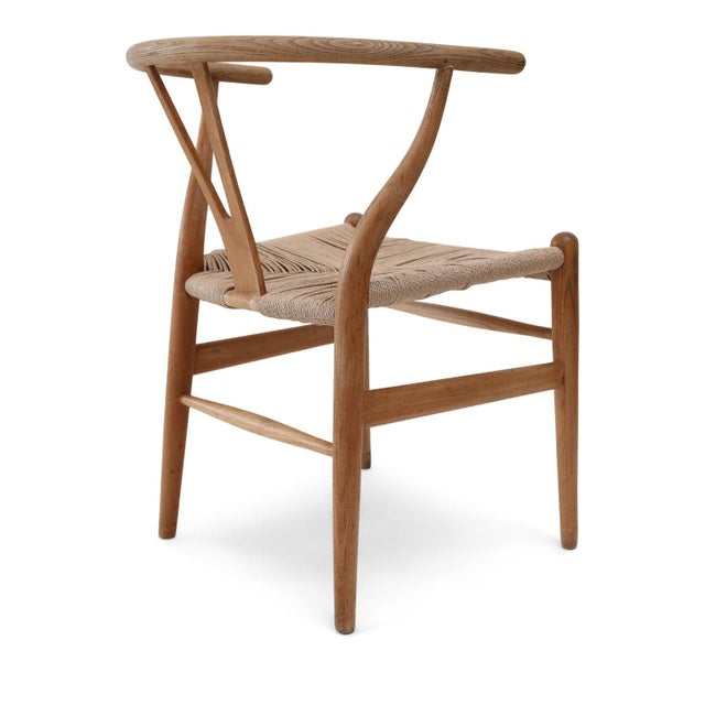 Wishbone Armchairs by Hans Wegner For Sale In Houston - Image 6 of 13