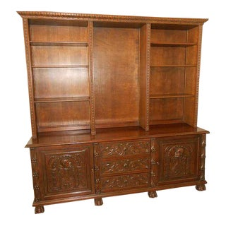 16th Century-Style Spanish Renaissance Secretary Desk For Sale