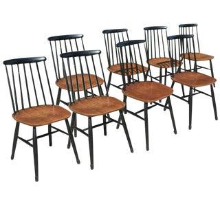 Ilmari Tapiovaar Mid-Century Dining Chairs - Set of 8