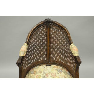 Early 20th Century French Country Louis XV Style Swivel Vanity Chair Preview