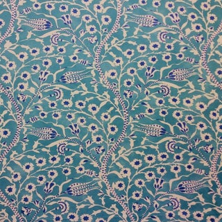 Boho Chic Clarence House Cannanore Tree of Life Designer Fabric by the Yard Condition:New For Sale