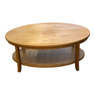 Country Style Wooden Coffee Table For Sale
