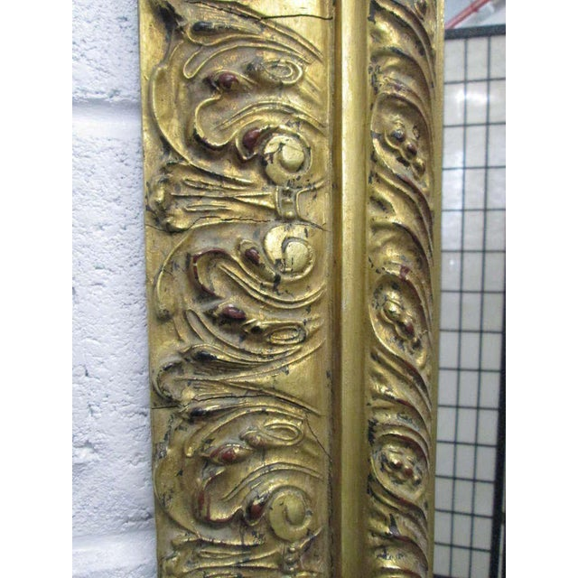 Gold Gilt Rectangular Mirror - Image 3 of 5