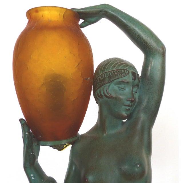 Art Deco Art Deco Sculpture by Pierre LeFaguay For Sale - Image 3 of 10