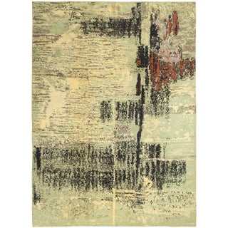 Art Deco French Rug - 8′1″ × 11′2″ For Sale