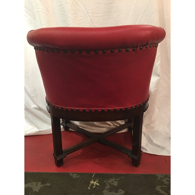 Brown Napoleon III Desk Chair in Walnut For Sale - Image 8 of 11
