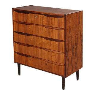 Danish Modern Rosewood Highboy Dresser For Sale