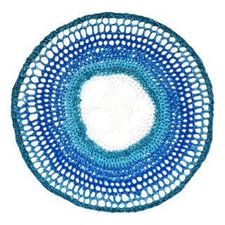 Crochet Dream Catcher - Blue