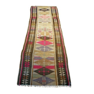 Antique Oushak Design Rug For Sale