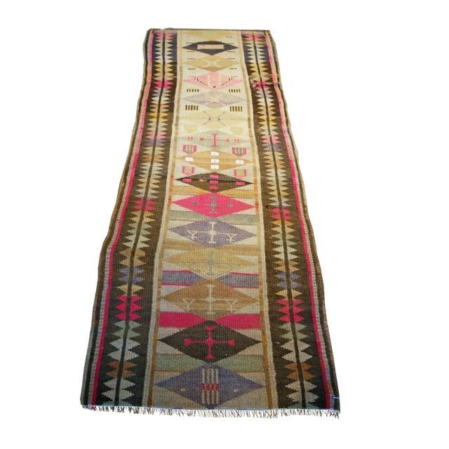 Antique Oushak Design Rug For Sale