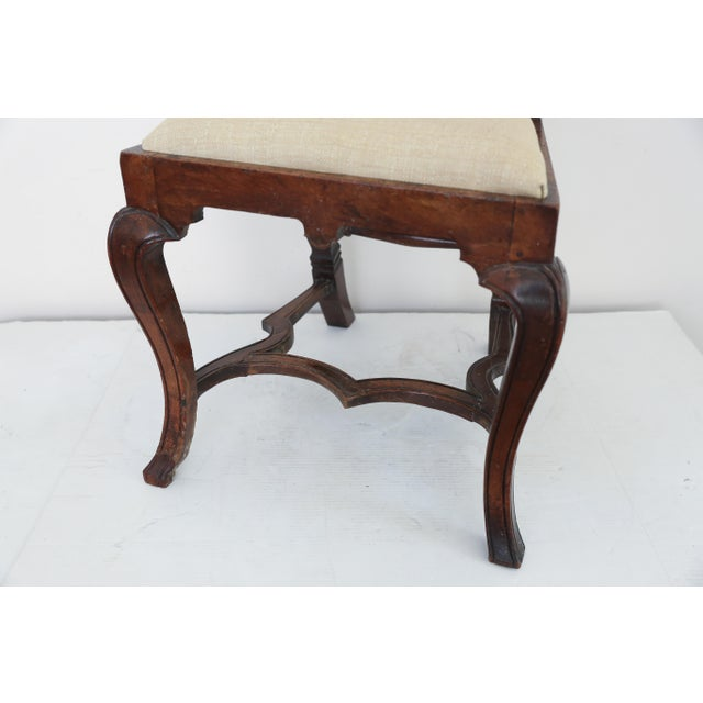 Anglo Dutch Walnut Chairs - A Pair For Sale - Image 9 of 9