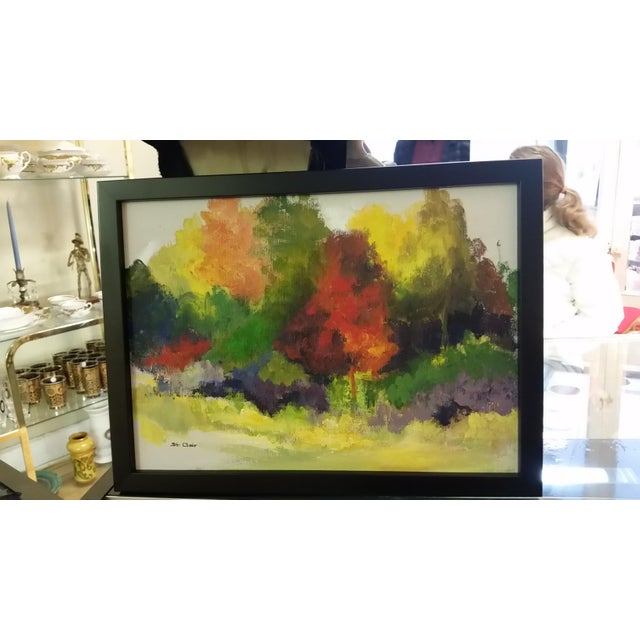 Vintage Helen St. Clair Oil Painting - Image 5 of 5