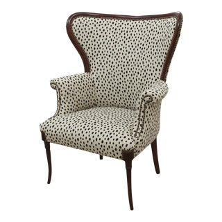 Kate Spade Flaxseed Wingback Chair