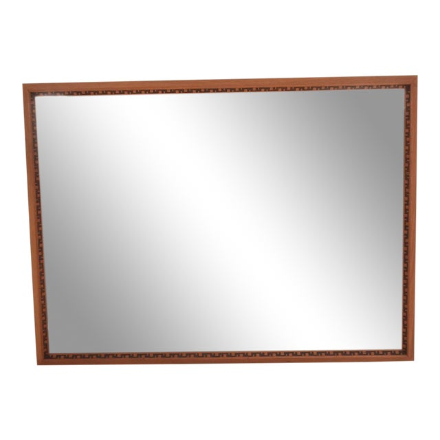 Mid-Century Modern Frank Lloyd Wright Mirror or Frame For Sale
