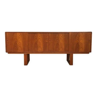 Faarup Mobelfabrik Danish Modern Teak Sideboard For Sale