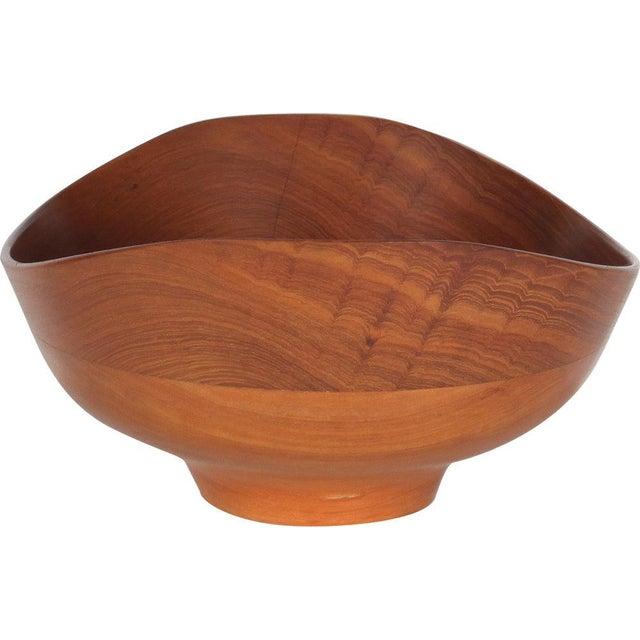 Danish Modern Teak Salad Bowl by Finn Juhl for Kay Bojesen For Sale - Image 3 of 6