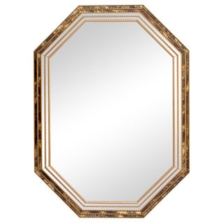 Reverse Painted Frame Mirror