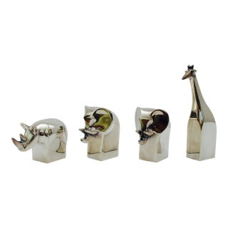 Dansk Animal Sculpture - Set of 4