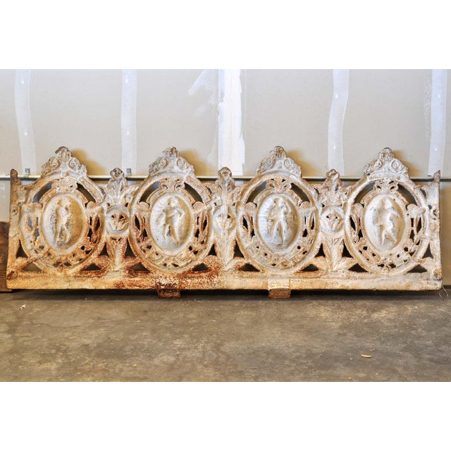 Four Seasons Cast Iron Garden Bench Backrest - Image 3 of 8