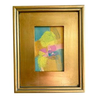 "Jessalin Beutler ""Sun and Sand"" 2021 Framed Mini Painting For Sale"