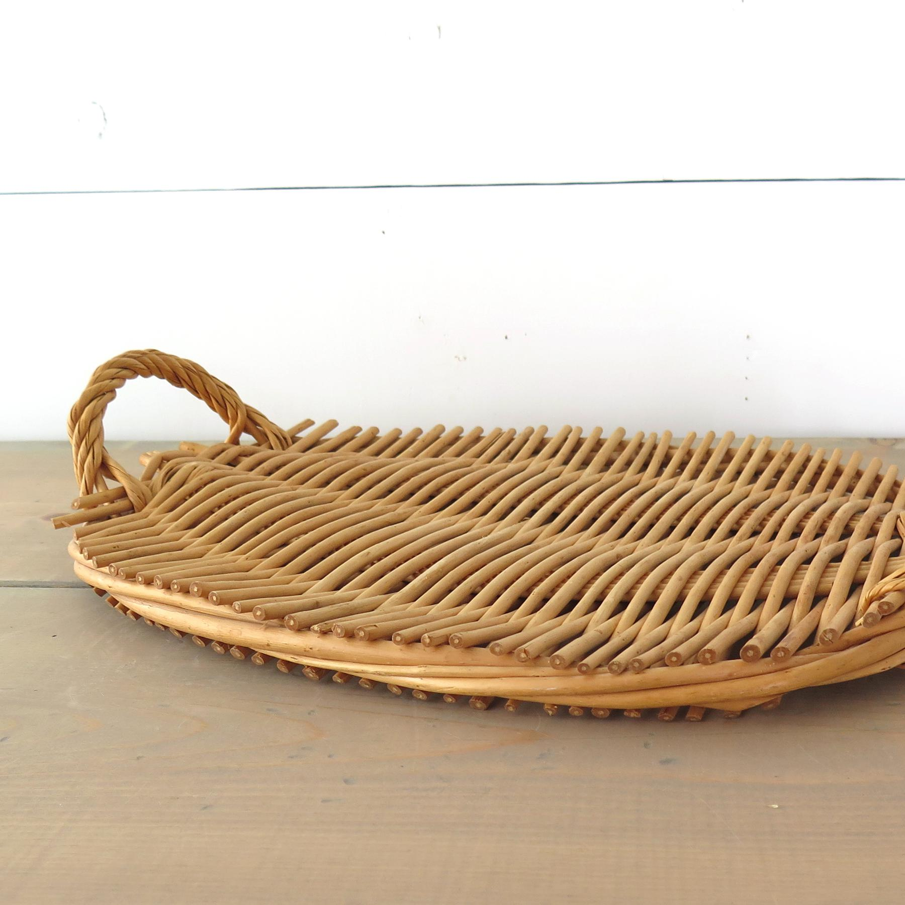 Oval Rattan Tray   Image 3 Of 7