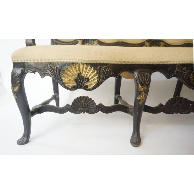Norwegian Rococo Settee, Circa 1750 For Sale In New York - Image 6 of 11