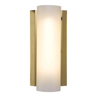 Swedish Wall Light in Brass For Sale