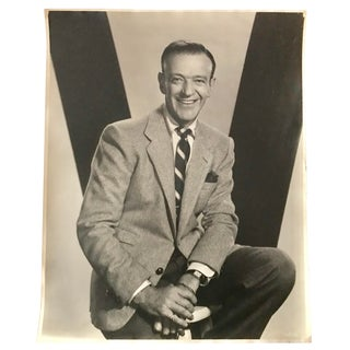 "Original 1950s Hollywood Portrait Fred Astaire by Virgl Apger 16x20"" For Sale"