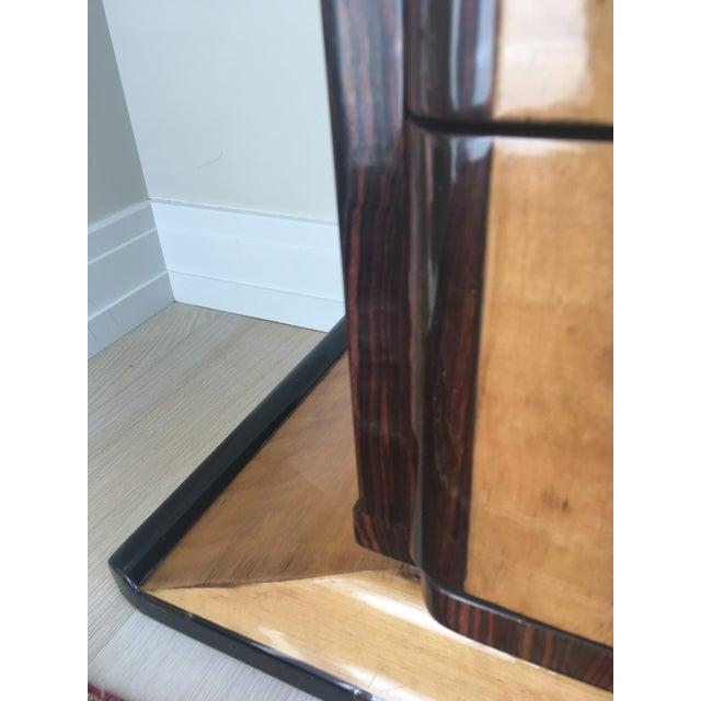1920s Art Deco Zebra Wood Dresser - Image 5 of 7