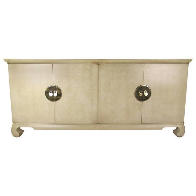 Wood Drexel Heritage Chinoiserie Sideboard For Sale - Image 7 of 7