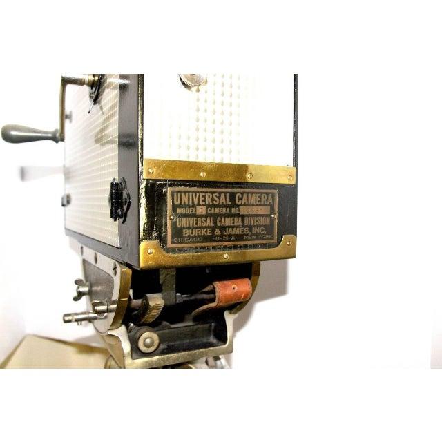 Art Deco Universal Cinema Camera Built in 1928. Rare Cinema Field Camera. Display As Sculpture. For Sale - Image 3 of 9