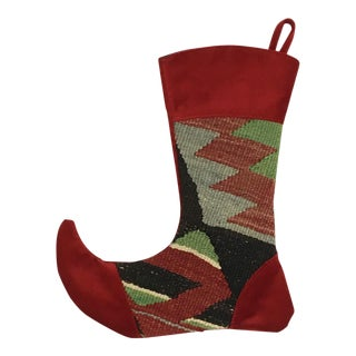Kilim Christmas Stocking | Jack