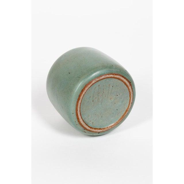 1970s Ceramic Vase Edouard Chapallaz For Sale - Image 5 of 6