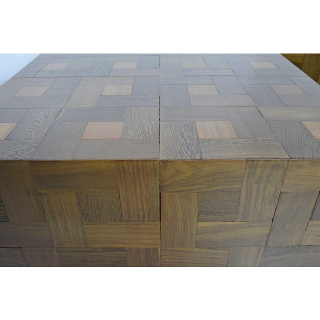 Pair of Parquet Oak Side or Coffee Tables - Image 5 of 7