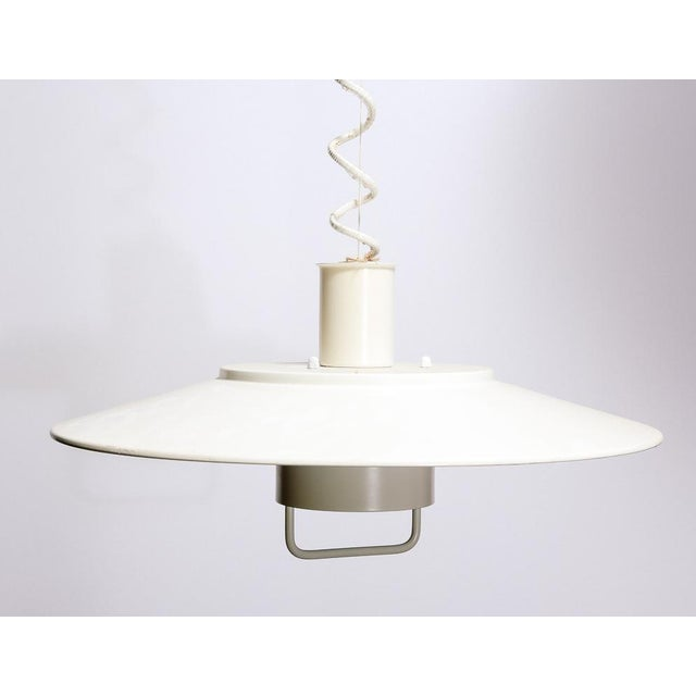 Mid-Century Modern Adjustable Hanging Lamp by Lyfa For Sale - Image 3 of 5