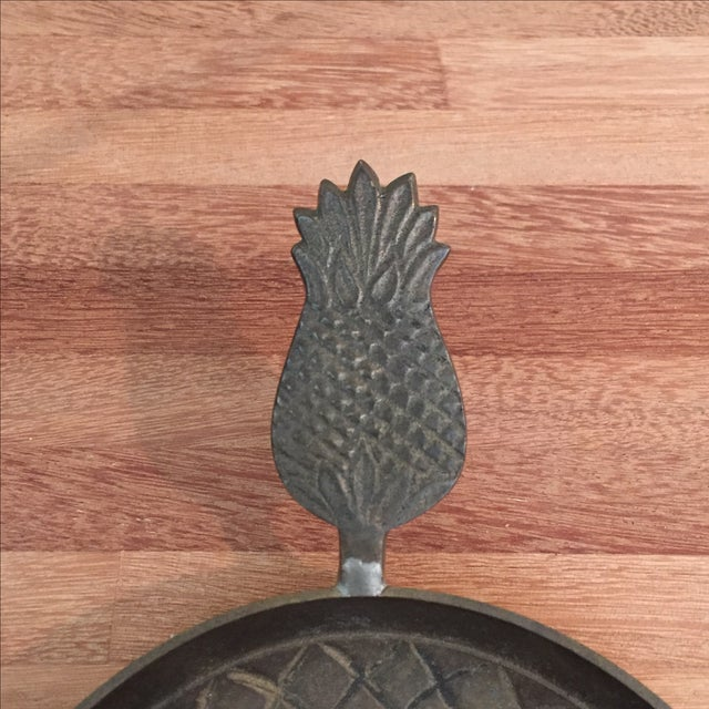 Solid Brass Gatco Pineapple Candleholder - Image 6 of 6