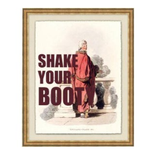"""""""Shake Your Booty"""" Framed Print by Jo Sampson For Sale"""