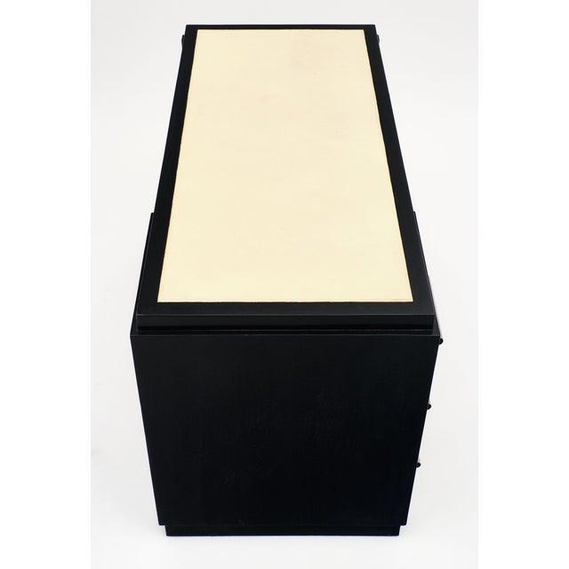 Art Deco French Art Deco Period Ebonized Desk For Sale - Image 3 of 10